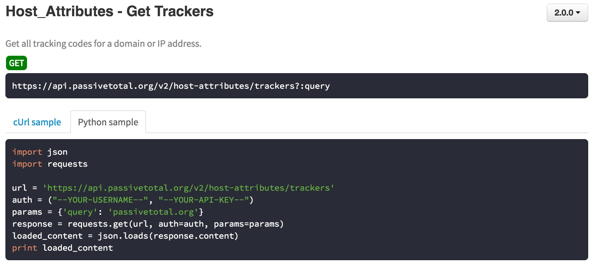 New API, New Data - RiskIQ