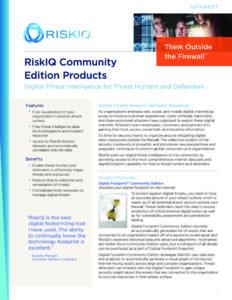 Community-Edition-Products-RiskIQ-Datasheet-pdf-791x1024
