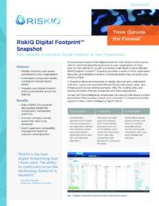 Digital-Footprint-Snapshot-RiskIQ-Datasheet