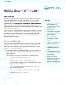 External-Threats-RiskIQ-Datasheet