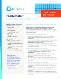 PassiveTotal-RiskIQ-Datasheet-pdf-1-791x1024