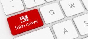 Internet fake news media technology